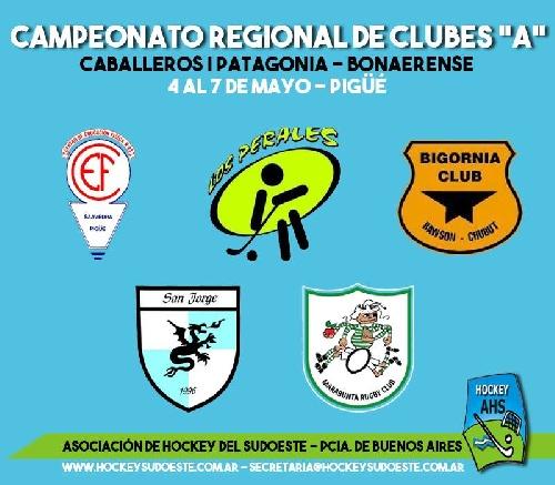 Torneo por el ascenso 2018 de la Asociacion  de Hockey del Sudoeste en Pigüé