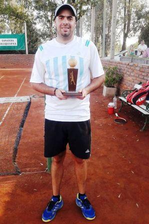 Tenis - Matías Martínez obtuvo el subcampeonato en el Ranking del Oeste.