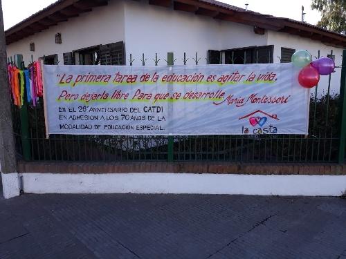 """El Centro de Atención Temprana del Desarrollo Infantil Nº1 """"La Casita de Pigüé celebro su aniversario"""