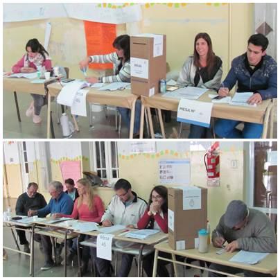 Domingo de elecciones en Pigüé y los pueblos del Distrito