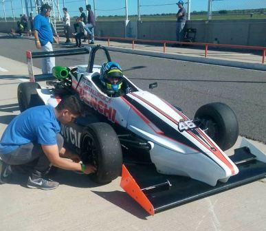 Formula Pampeana -  Franco Venchi finalizó 4° en la segunda final en Toay.