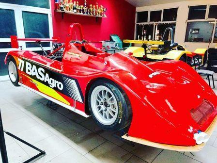 Sport Prototipos - Jorge Balcarce en plena preparación de su unidad.