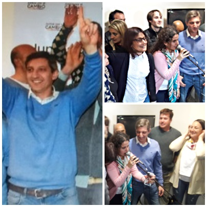 Ganaron Gustavo Notararigo y Juntos por el Cambio