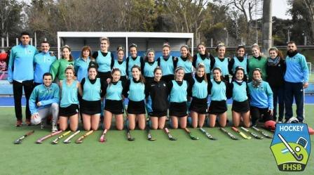 Hockey Femenino - El Sub 16 de la Federación debutó con un triunfo.