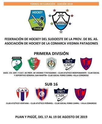 Hockey Femenino - Peñarol en Sub 16 participará del Torneo Integración.