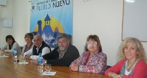 Barrio Pueblo Nuevo: reunión con vecinos por la clasificación de residuos en origen para reciclar