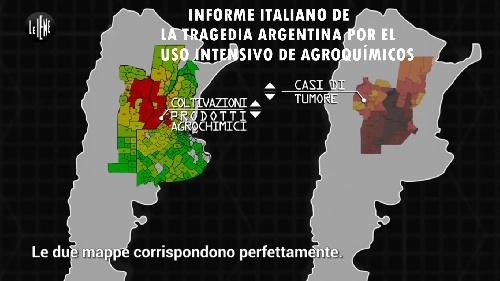 INFORME ITALIANO SOBRE LA TRAGEDIA ARGENTINA POR EL USO INTENSIVO DE AGROQUÍMICOS QUE AQUI OFICIALMENTE OCULTAN