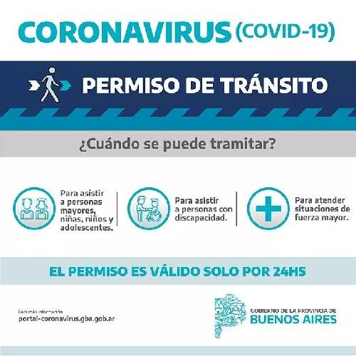 PERMISO EXCEPCIONAL PARA CIRCULAR X 24 HS EN PCIA DE BS AS