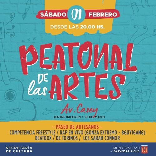 Tercera Peatonal de las Artes en Pigüé