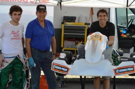Karting - Fernando Gomez Fredes disputadas dos fechas lidera el SudamMaster.