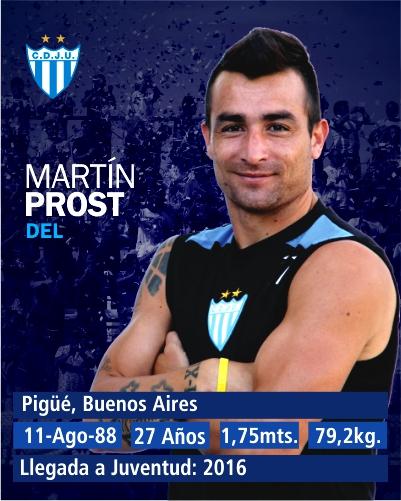 Nacional B - Un gol de Martín Prost no fue suficiente para Juventud Unida que cayó ante el lobo jujeño.