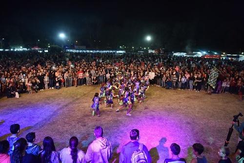 Alegría carnavalesca en el Parque Municipal de Pigüé
