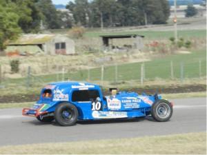 TC del 40 Sudeste - Ruben Guarino se quedó con el 1° tiempo en la primer clasificación sabatina en Lobería..