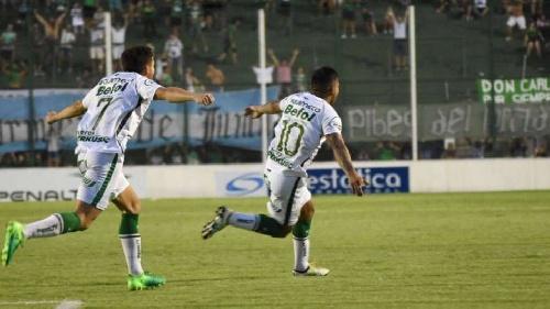 Nacional B - Derrota de Agropecuario en Junín - Prost convirtió un gol que le fue anulado ilícitamente.