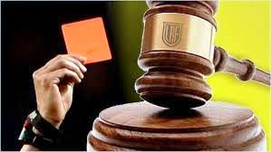 LRF - Tribunal de Penas - 7 días de suspensión para responsables técnicos locales de inferiores.