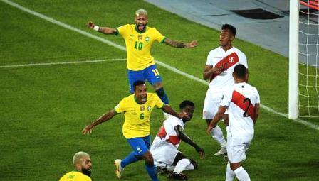 Copa América - Brasil goleó a Perú y expuso su jerarquía.