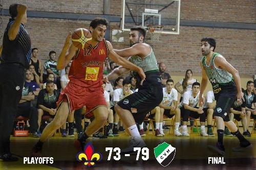Basquet Bahiense - Villa Mitre superó a Bahiense, gana el clausura y va por la final - 13 puntos de Esteban Silva.