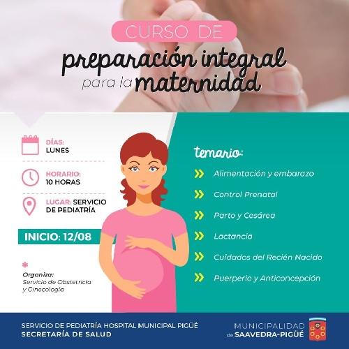 Curso de preparación integral para la maternidad