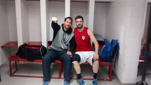 Basquet Federal - Segunda victoria de River Plate, David Fric anotó 11 puntos.