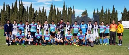 Hockey Masculino - Estudiantes de Santa Rosa cayó ante el Cef y derrotó a Sarmiento.