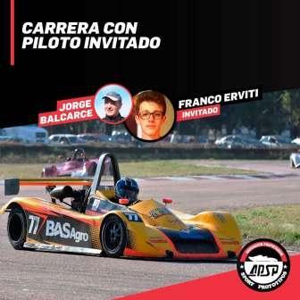 Sport Prototipos - Jorge Balcarce tendrá como invitado a Federico Erviti.