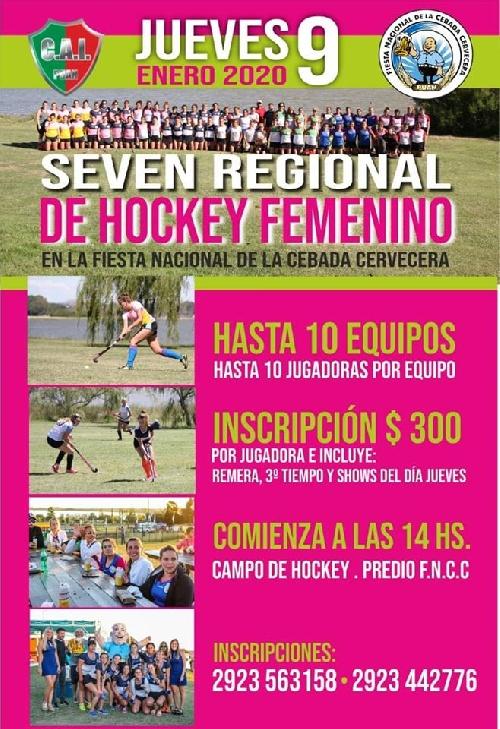 Hockey Femenino - Independiente de Puán organiza Seven Regional.