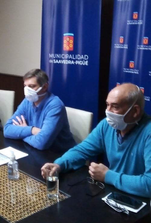 DR. COTARELO DIRECTOR ADJUNTO DEL HOSPITAL MUNICIPAL DE PIGÜÉ