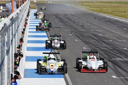 Fórmula Pampeana - Pruebas de entrenamiento en Toay para la 2da fecha.