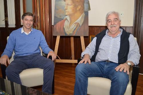 Se reunieron Hugo Corvatta y Gustavo Notararigo