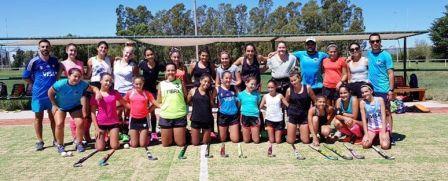 Hockey Femenino - El Sub 14 de la Federación comenzó el 2020.
