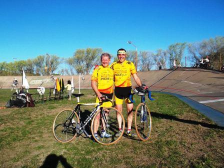 Ciclismo - Nestor Ziegemann finalizó 3° Master en el Parque de Mayo bahiense.