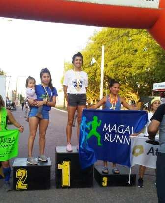 Atletismo - Yani Clair ganó la prueba de Garré y se quedó con el campeonato del 6 ciudades.