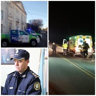 Policiales: Tres accidentes registrados durante este último fin de semana.