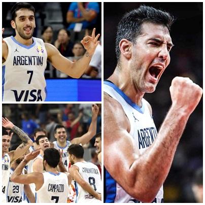 Enorme victoria de la selección Argentina de Basquet en el Mundial en China ( video resumen )