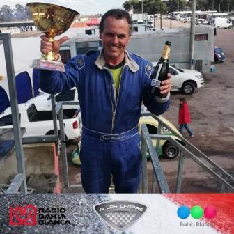 Fórmula 3CV - Darío Rausch ganó una final, resultando 3° en la otra.
