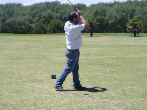 Golf . Mauro Martínez y Néstor Laso ganaron en el club local.