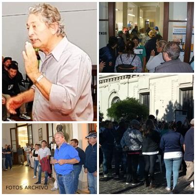Ya es una huelga salvaje, a todo o nada, de negociar  ni hablar, amenazaron tomar el edificio municipal y el Hospital (dicen simbólicamente)