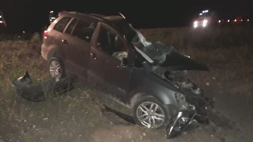 En fatal accidente en la RN 33 falleció el Dr  Rostand, médico de Saavedra