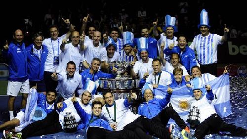 Argentina ingresó al Olimpo del tenis: se consagró Campeón de la Copa Davis