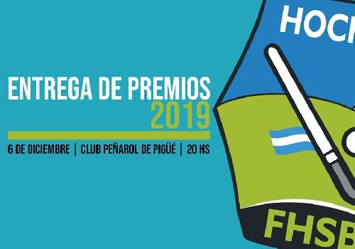 La entrega de premios de la Federación de Hockey se realizará este viernes.