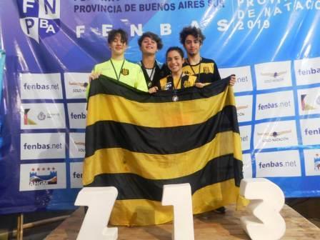 Natación - Medalla de Oro para Candela Pomies en Provincial de Miramar