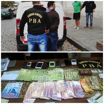 El vendedor de cocaina a domicilio de Pigüé: le incautaron dinero, droga y vehículo