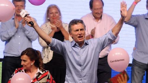Mauricio Macri es el nuevo presidente de los argentinos