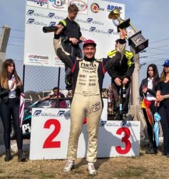 Fórmula Pampeana - Tras las dos finales del domingo, Diego Farina ganó la etapa regular.