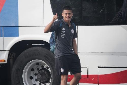 Gabriel Mercado en Paraguay será titular ante Chile por el Sudamericano Sub 15.
