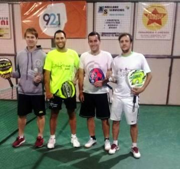 Padel - Gilardi y Heinrich ganaron torneo de 5ta división.