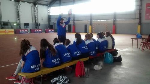 Handball Femenino - Décimo lugar para el CEF 83 en el Torneo Nacional Cadetes B en San Nicolas.