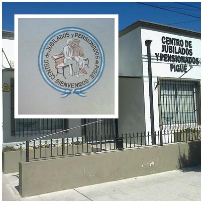 El Centro de Jubilados Pigüé entregará los planes PAMI