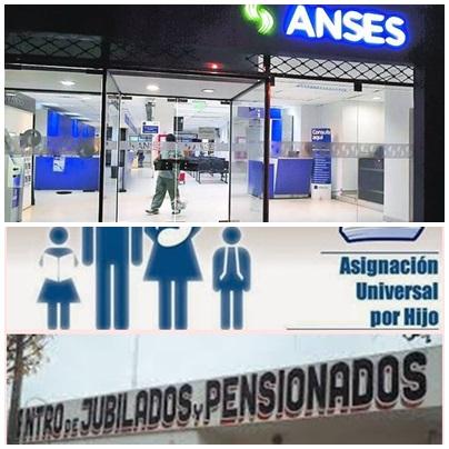 JUBILADOS, PENSIONADOS, ASIGNACIONES Y DESEMPLEO: CALENDARIO DE PAGO  DE ANSES DE LOS MESES DE ABRIL Y MAYO