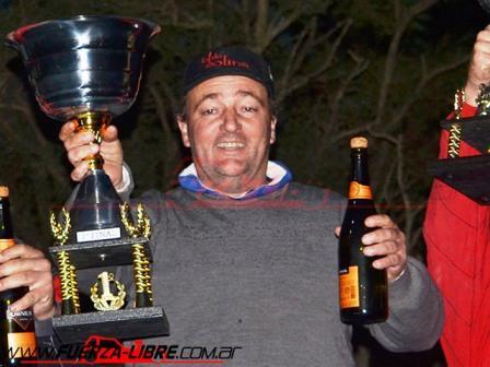 TC del 40 Sudeste - Ruben Guarino obtuvo un 1° y un 3° puesto en Tres Arroyos.